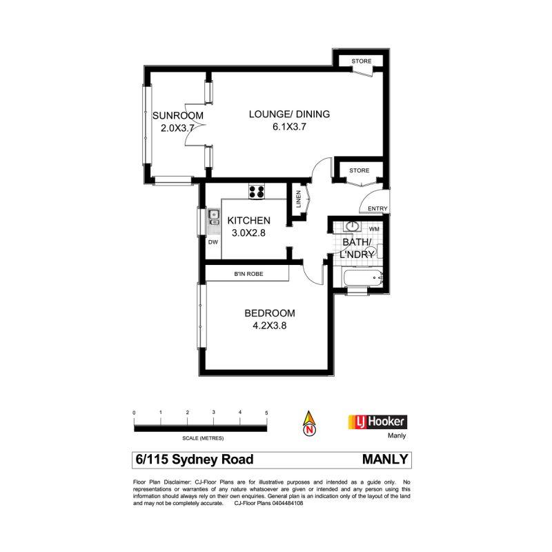 6/115 - 117 Sydney Road Manly 2095