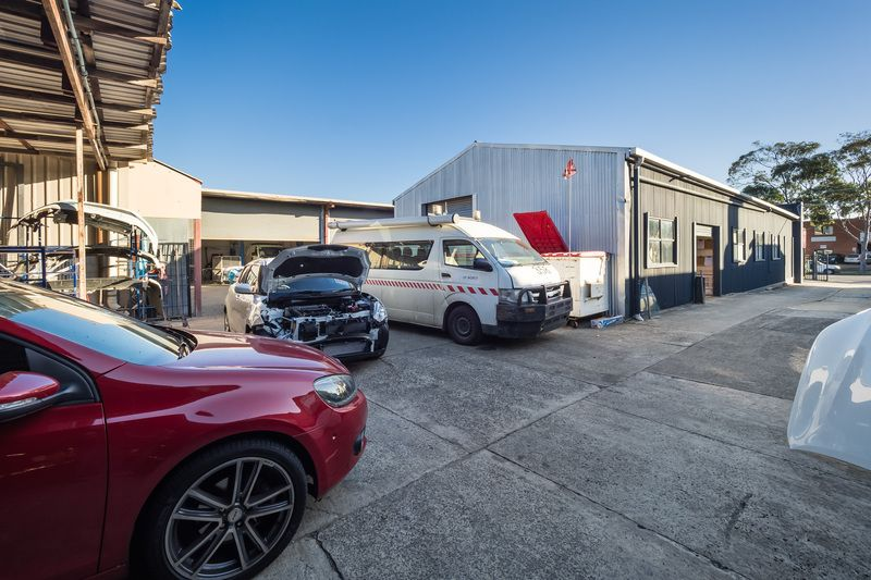 Two factories plus huge yard space