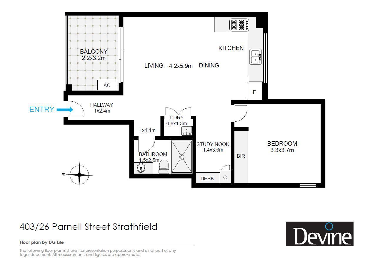 403/26 Parnell Street, Strathfield