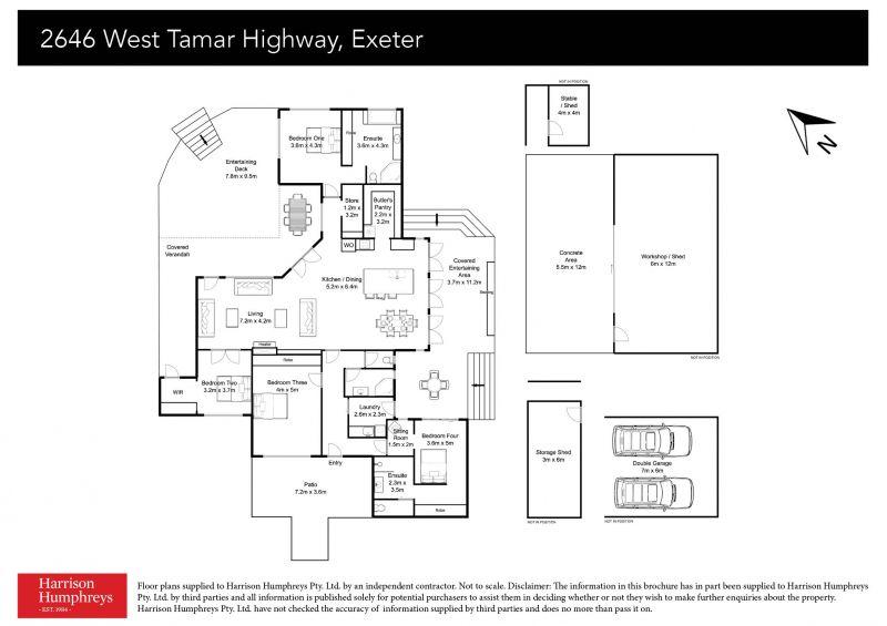 2646 West Tamar Highway Floorplan