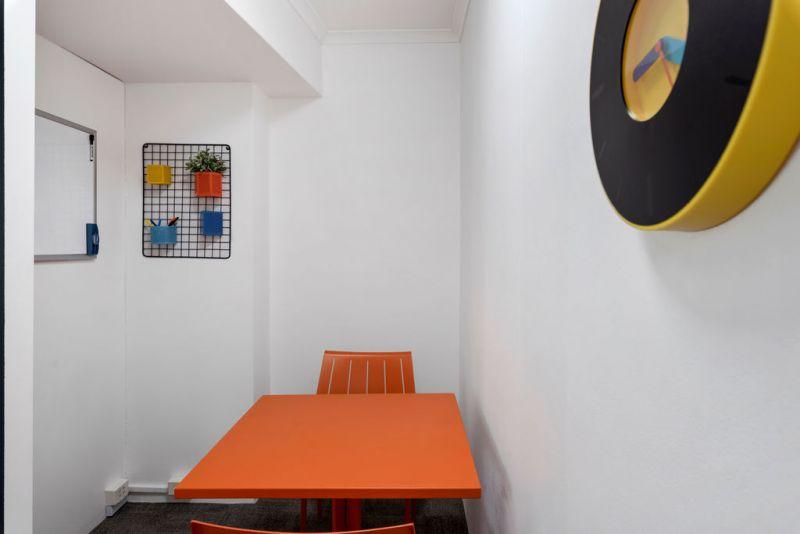 Impressive split level creative office