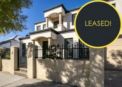 LEASED IN LESS THAN 2 WEEKS