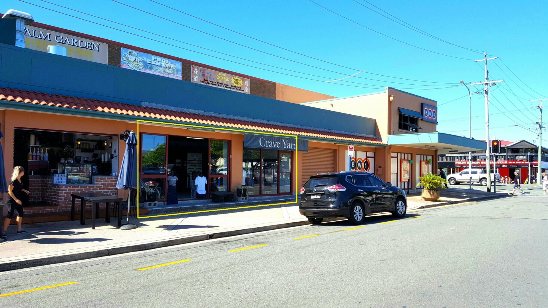 Retail Tenancy with Great Exposure - Palm Beach CBD