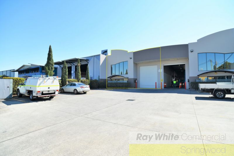 470sqm* Well Presented Office Warehouse With Container Set Down