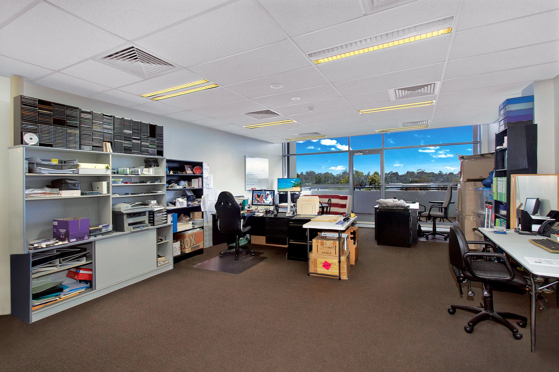 Modern Office Suite with Large Balcony & Views