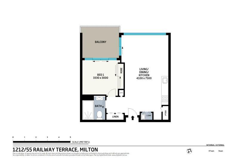1212/41 Railway Terrace Milton 4064