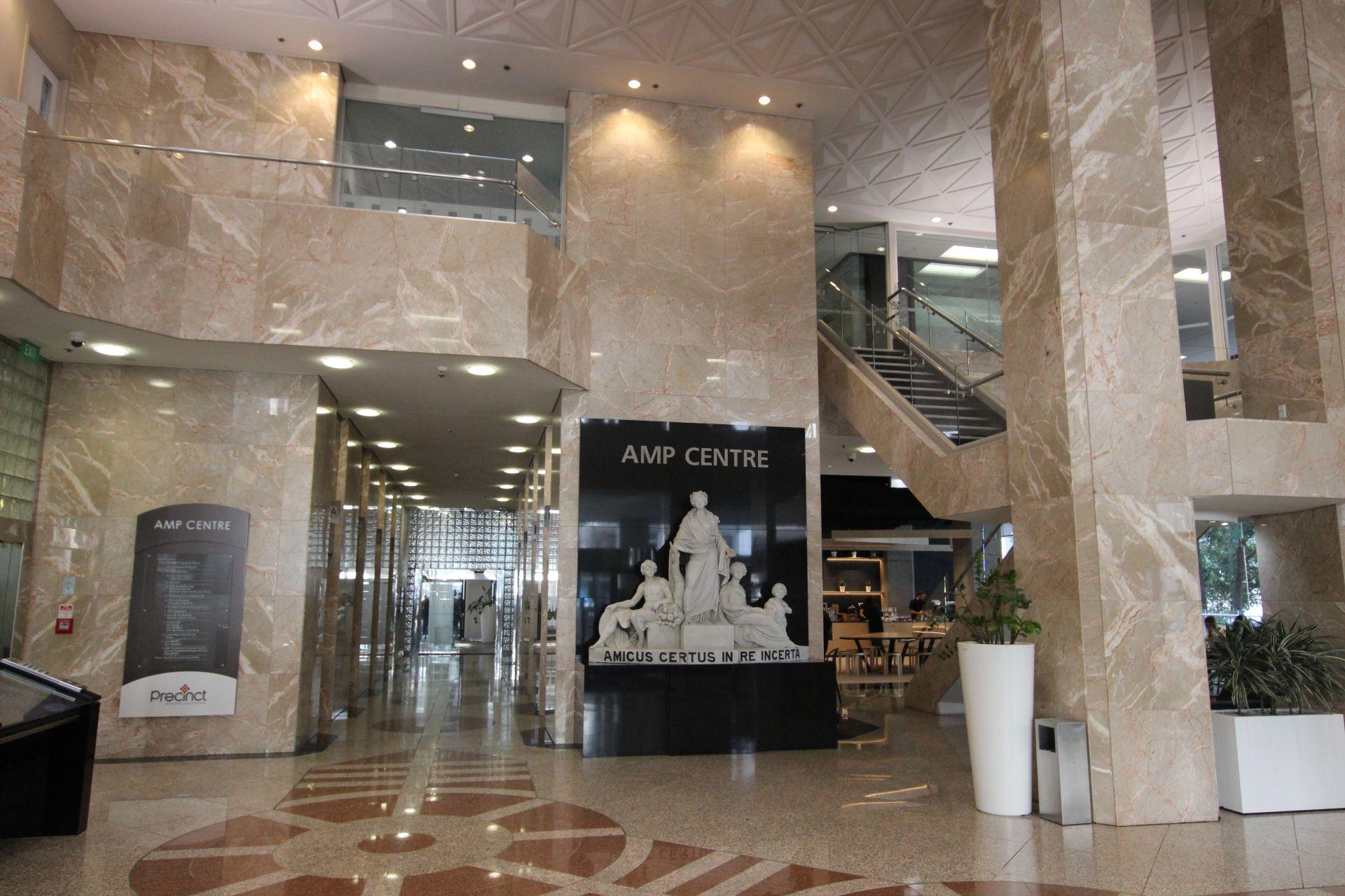Established Fit-Out in Popular AMP Centre