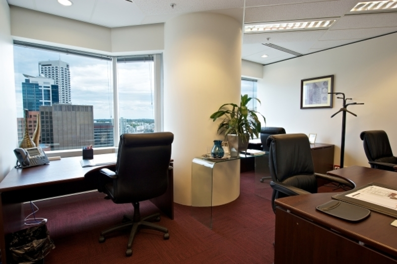 EXCELLENT OFFICES LOCATED AT PERTH VIEWS ACROSS ROTTNEST ISLAND AND SWAN RIVER WITH NATURAL LIGHTS