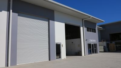 300 SQM INDUSTRIAL WAREHOUSE & OFFICE   COOLUM
