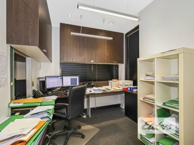 WELL CONFIGURED OFFICE WITH UNBEATABLE PARKING!