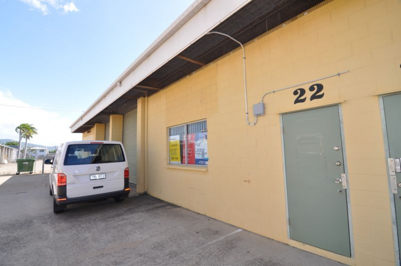 Affordable warehouse unit in Currajong