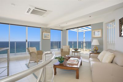 Triple Level Penthouse, Absolute Beachfront