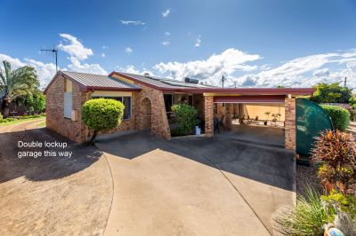 PRIVATE BRICK HOME - SIZE WILL SURPRISE - 3 LIVING AREAS + 3 CAR ACCOM!