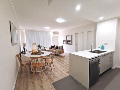 Nearly Brand New 3 Bed 2 Bath Apartment plus Study with new timber flooring