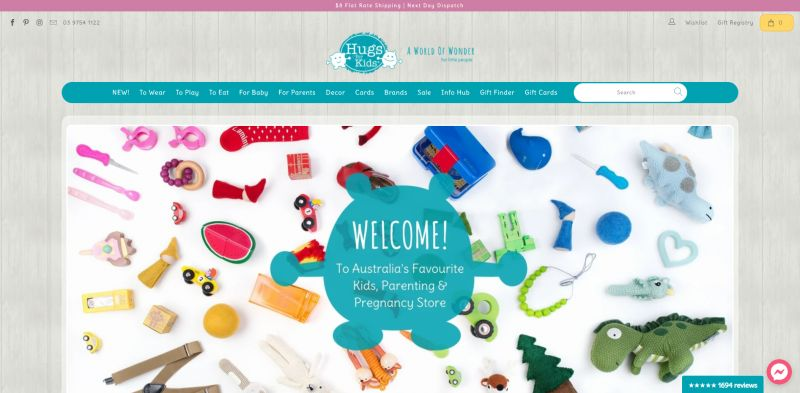 Beautiful Kids Shop and Thriving Online Business