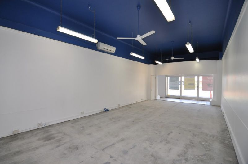 Ground floor office or retail with on site parking
