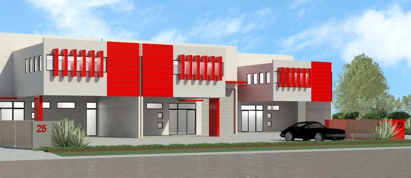 Industrial Units With 50SQM Mezzanines