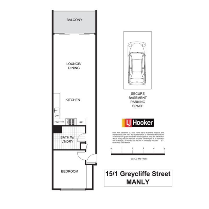 15/1 Greycliffe Street Queenscliff 2096