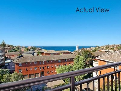 2 bedroom apartment with lovely panoramic ocean & district views