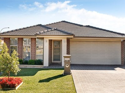 Welcome to your new home at 1 Butler Street, Gregory Hills.