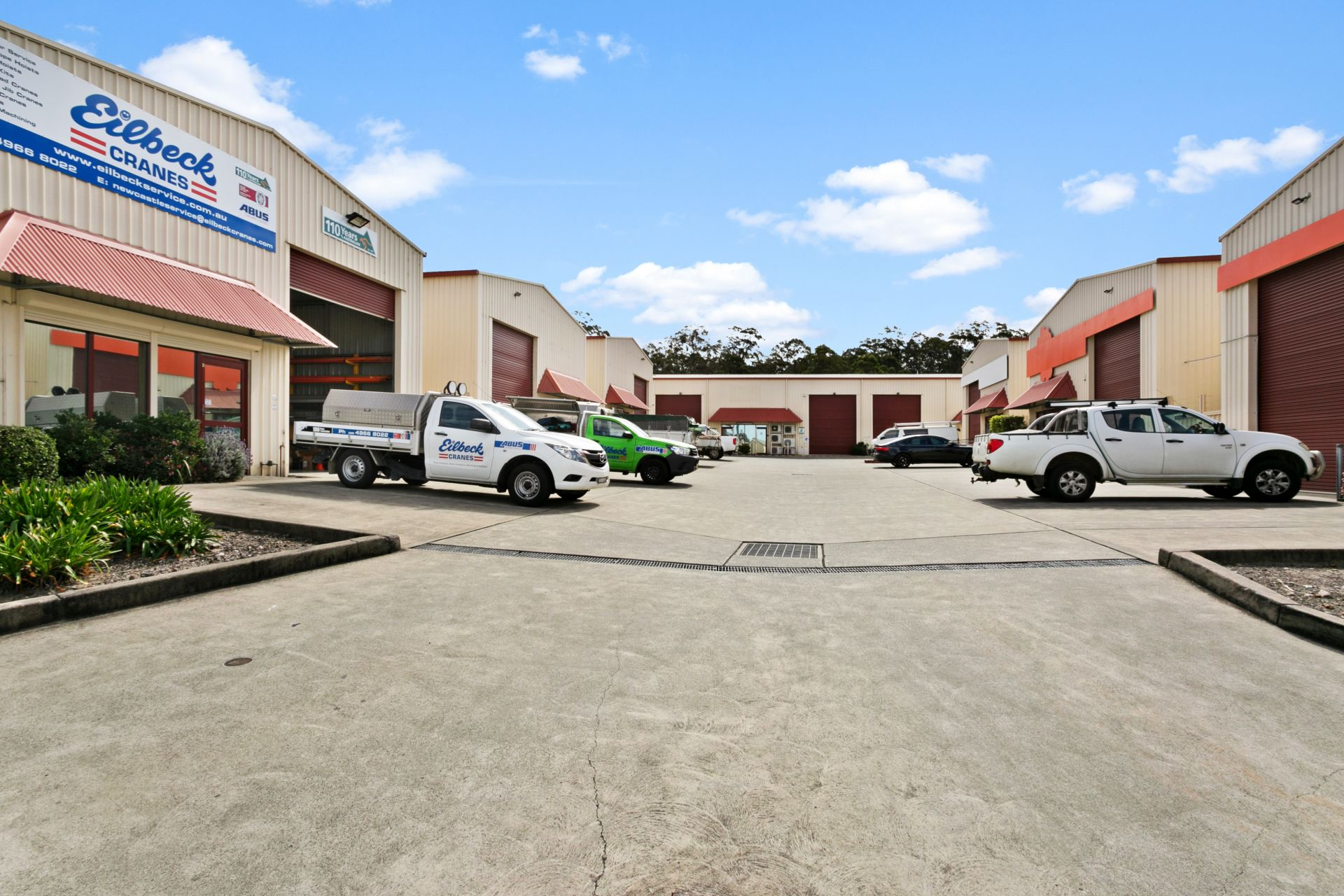 Low Cost Industrial Unit