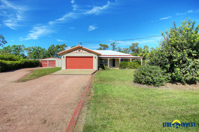 LOOKING FOR ACREAGE LIVING? BIG 4,359m2 BLOCK, 9X5m POWERED SHED, A 20,000 LTR WATER TANK + 6x3m DOG KENNELS & BORE