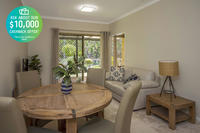 Unit 19 Lakeside Gardens - Open plan living and an ideal location, offering a nice open aspect with views overlooking the reserve.