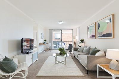 Sun-Filled Three Bedroom Apartment