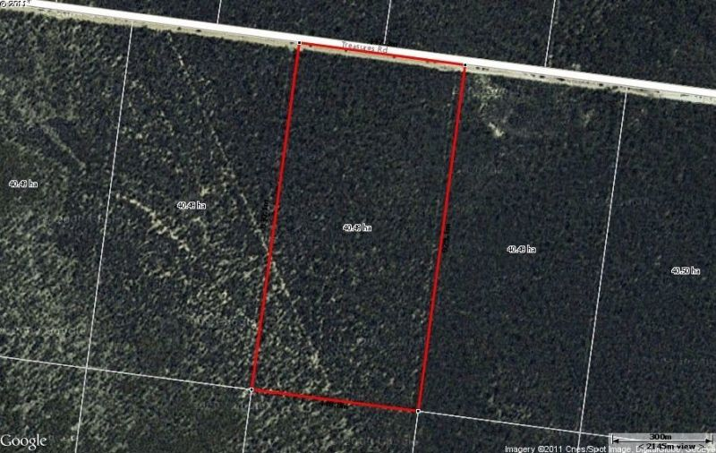 100 ACRES SOUTH OF CHINCHILLA - PRICE REDUCTION