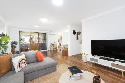 TOP FLOOR APARTMENT WITH WEST FACING BALCONY