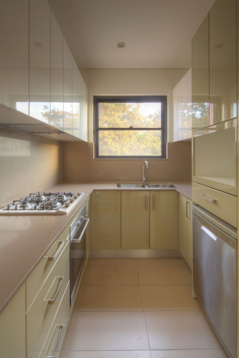 Renovated Two bedroom apartment located on the Top floor in a well maintained security building.