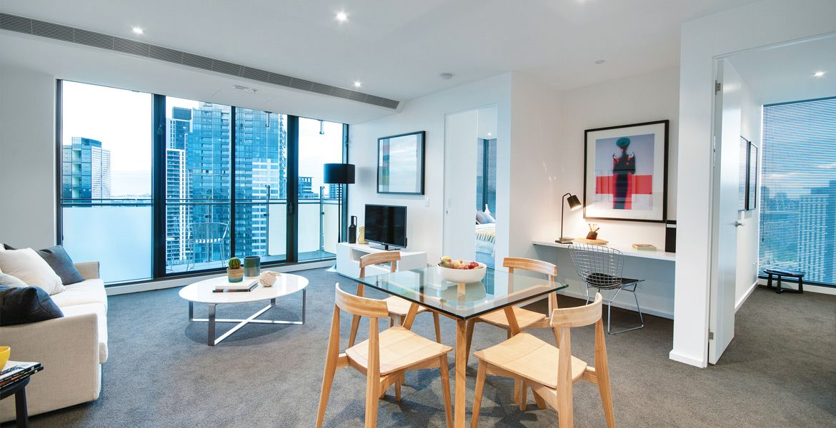 EPIC: Modern Two Bedroom, Two Bathroom Apartment in the Stunning EPIC Building! L/B
