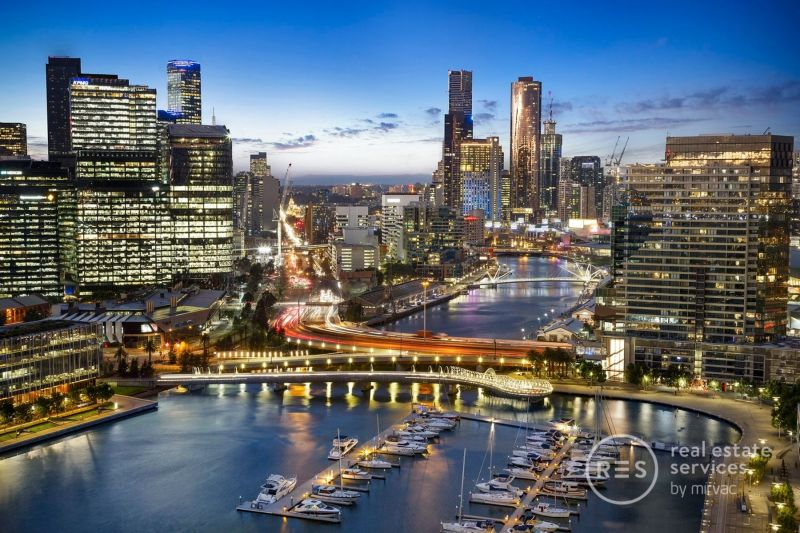 Lavish Yarra's Edge living matched by superb city views
