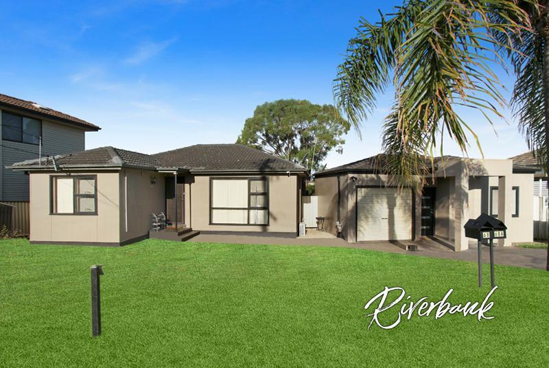 Two separate homes offering a double rental return!