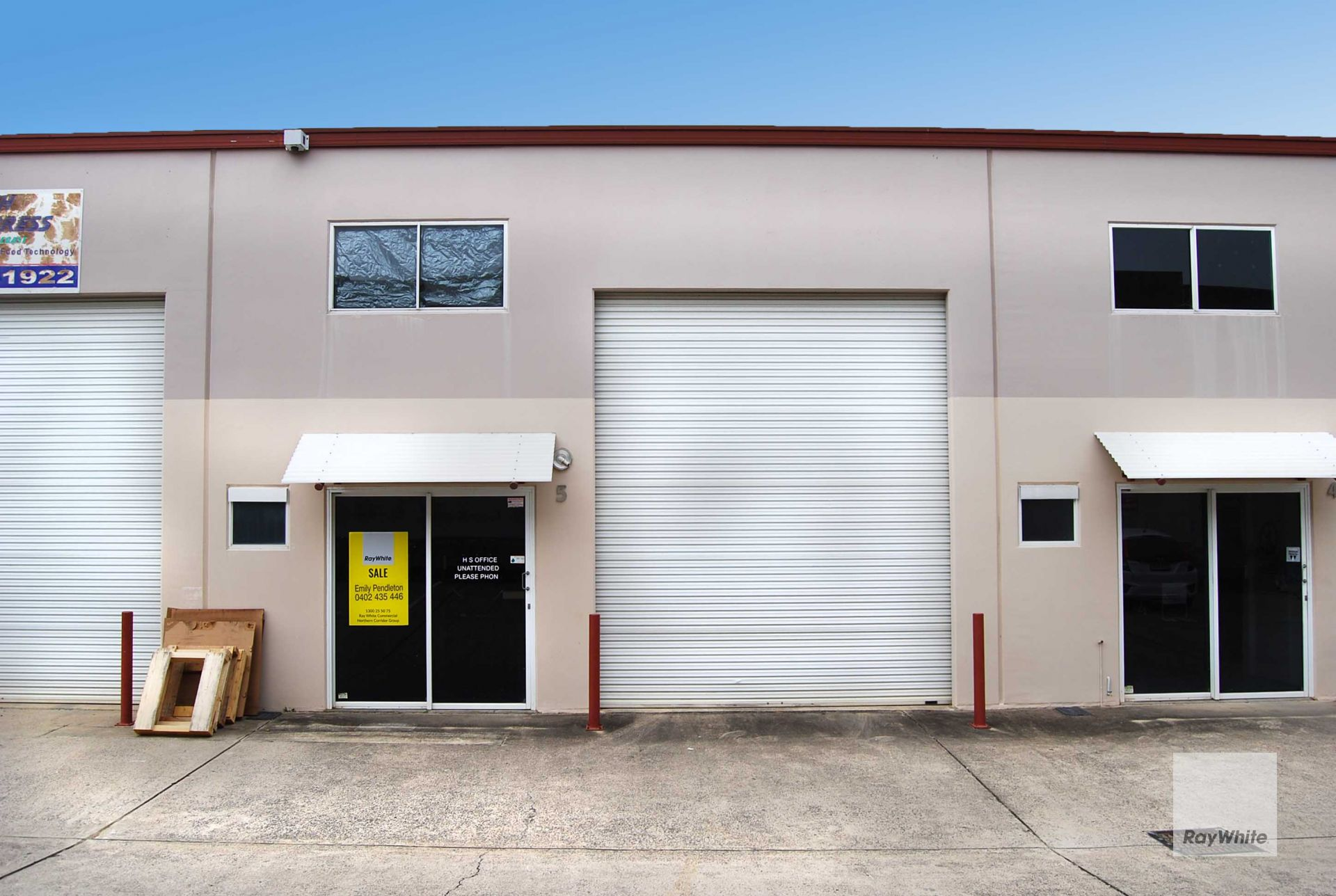 Compact, High Clearance, Clean & Tidy Industrial Shed | Kunda Park