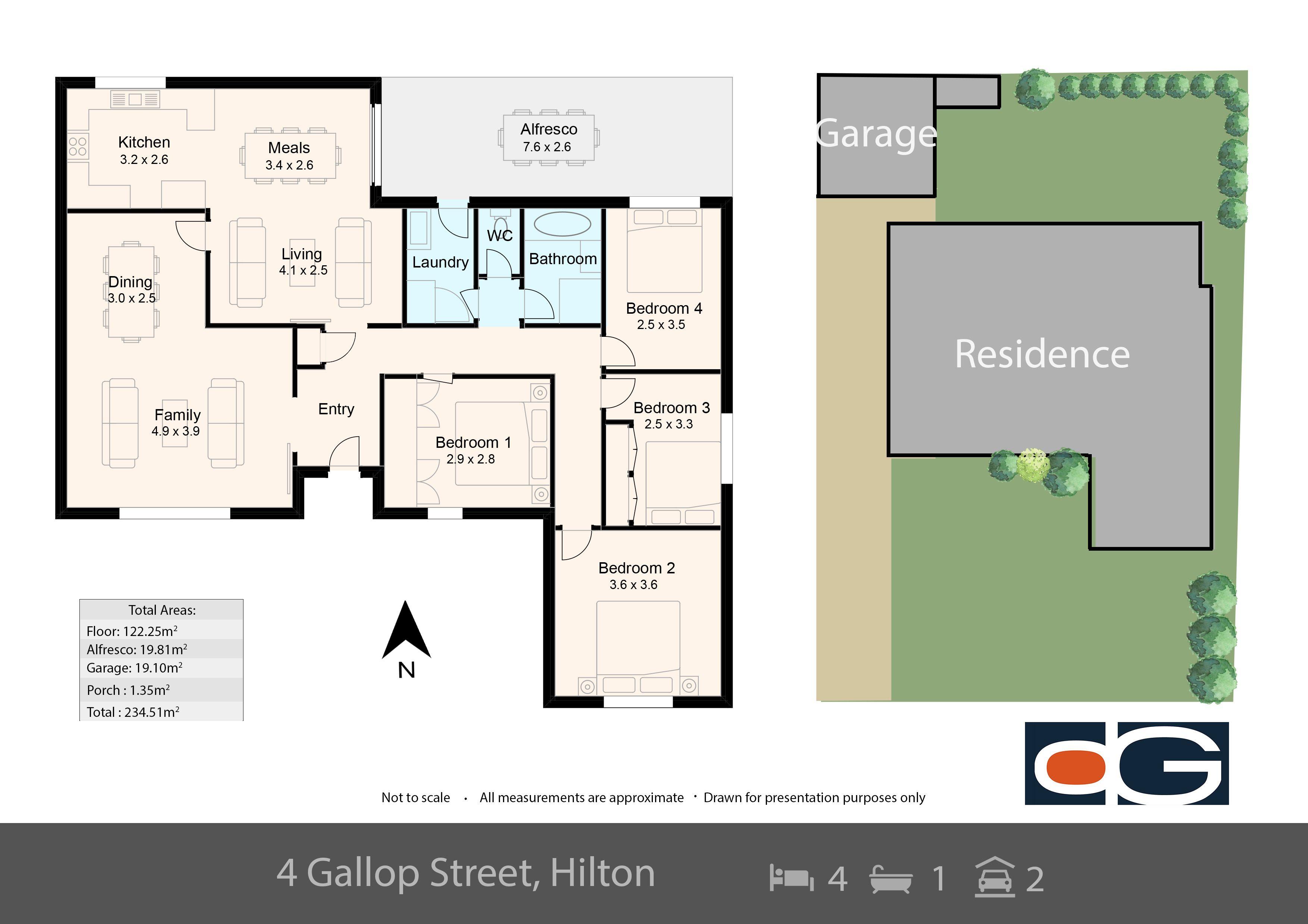 4 Gallop Street, Hilton