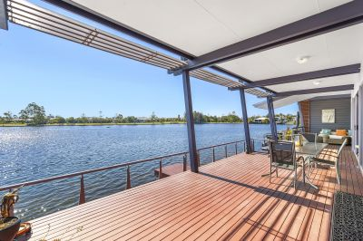 North to Water 4 Bedroom Stunner Overlooking the Beautiful Runaway Lagoons