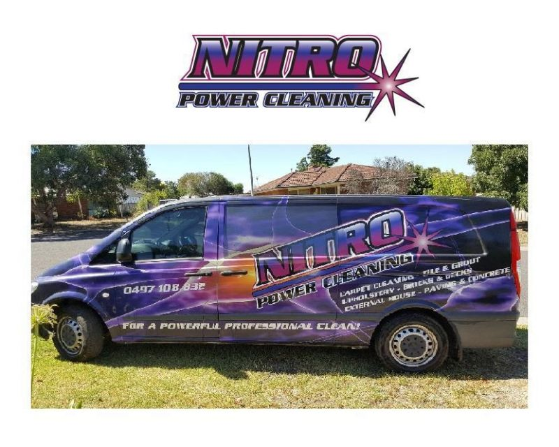 NITRO POWER CLEANING BUSINESS - (INCLUDES ALL EQUIPMENT AND VAN)