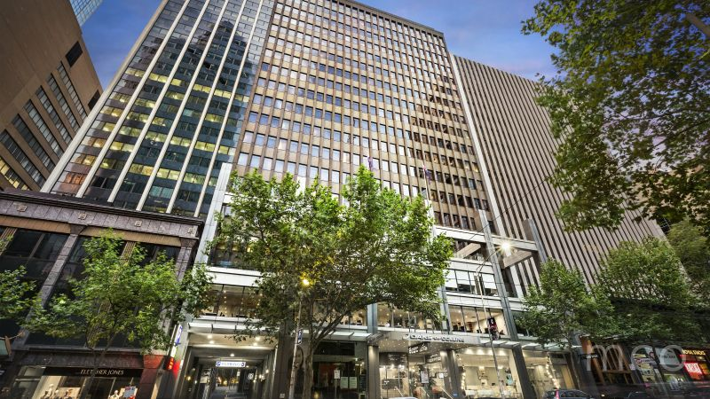 Spacious leasing opportunity with views overlooking Collins Street