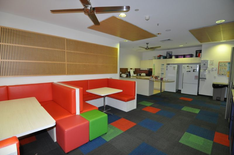 Serviced offices within the James Cook University Clinical Practice Building