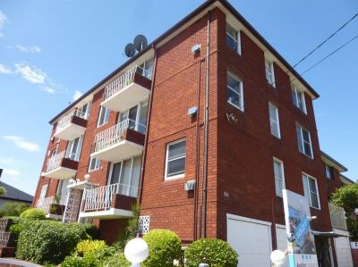 Top Floor Unit in Security Building for Lease