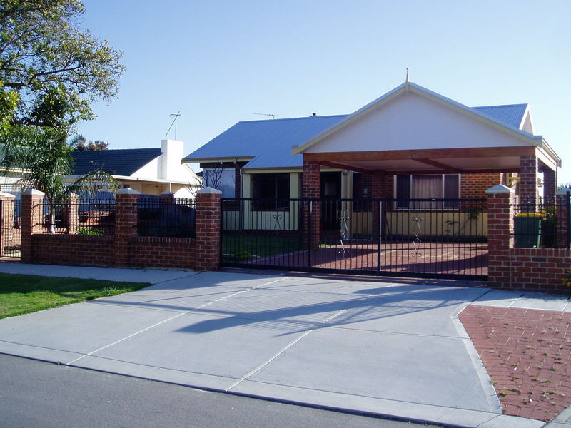 Immaculate 3 bedroom home with street frontage.