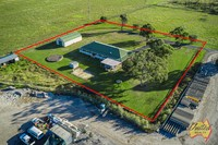 4 BEDROOM HOME WITH LARGE SHED ON APPROX 1.8 ACRES