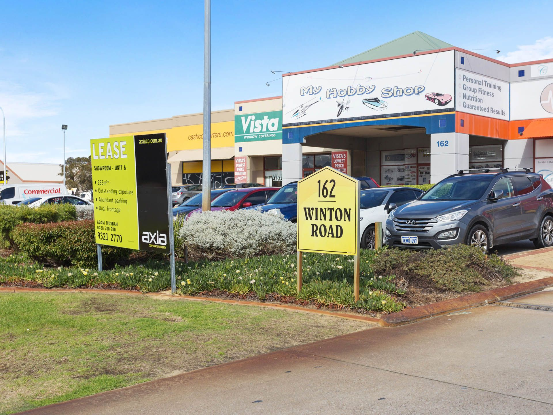 JOONDALUP BUSINESS PARK - MOST PROMINENT SHOWROOM?