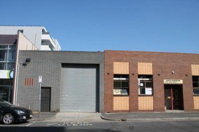 Office/warehouse with mezzanine