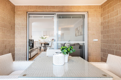 This Apartment has a Private Balcony as well as Lift Access