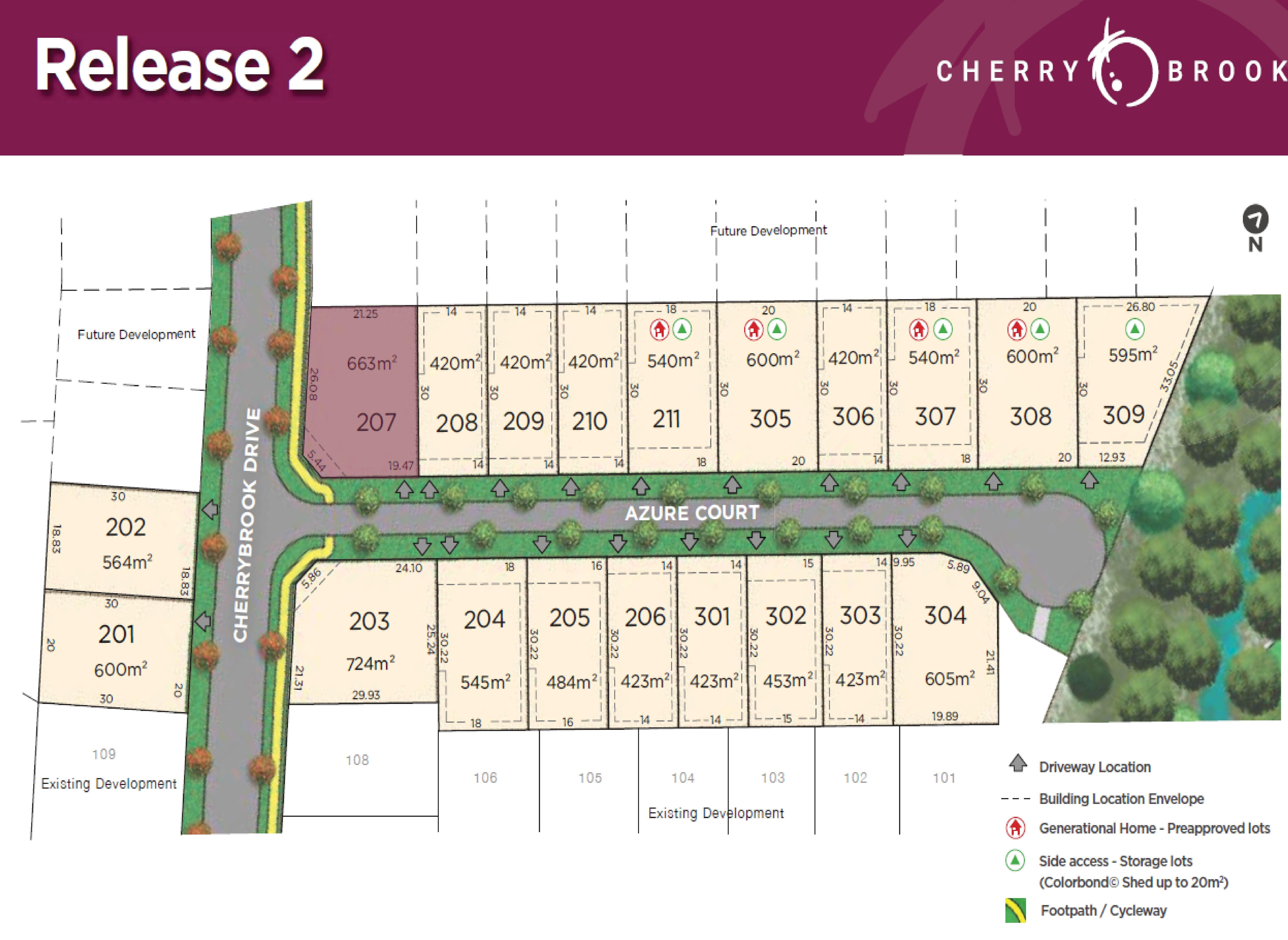 Lot 201 Cherrybrook Drive, Bentley Park QLD 4869