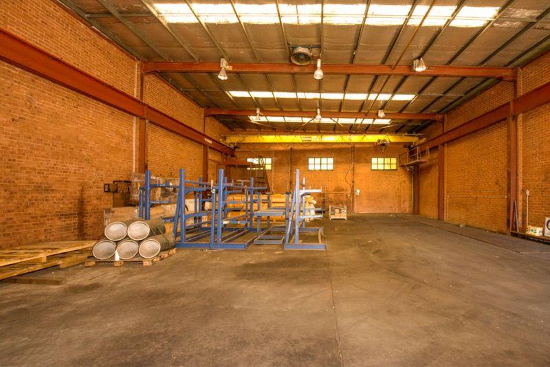 Freestanding Industrial Warehouse