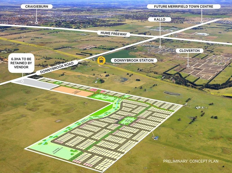 Significant 70Ha development opportunity in Melbourne's booming Northern Growth Corridor.