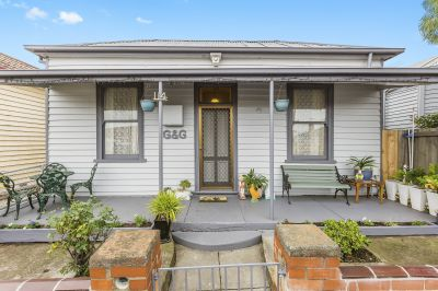 Affordable Double Fronted Victorian Cottage Situated Within The Yarraville Village Precinct!